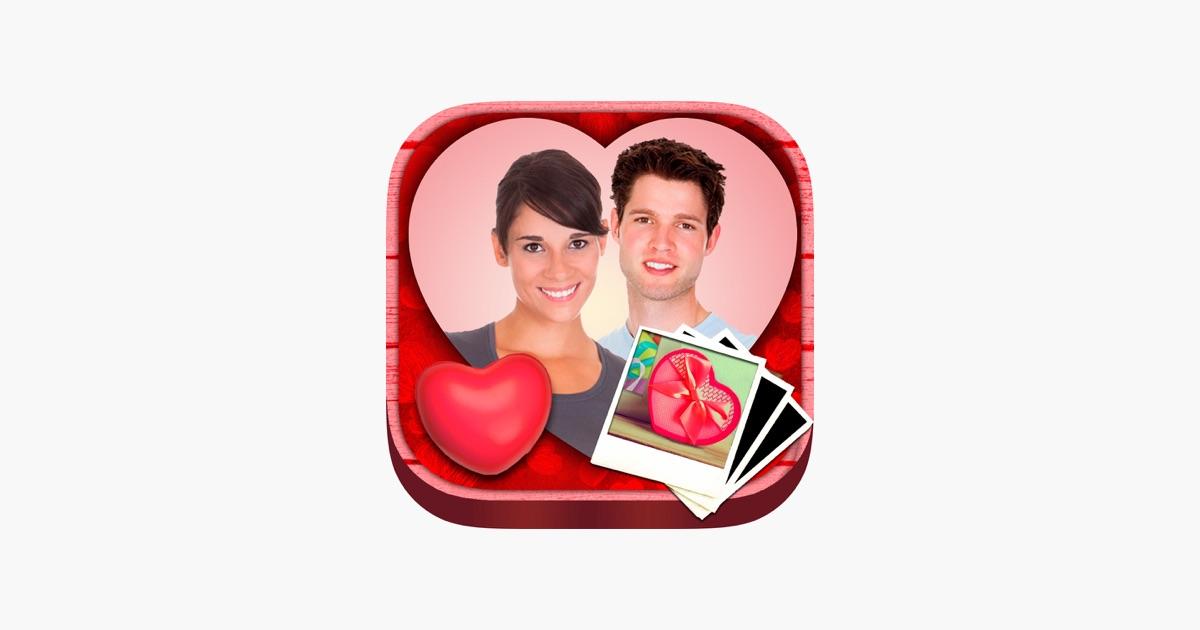 Valentine love Rahmen - Foto-Editor, um Ihre Valentinsgrußliebe ...