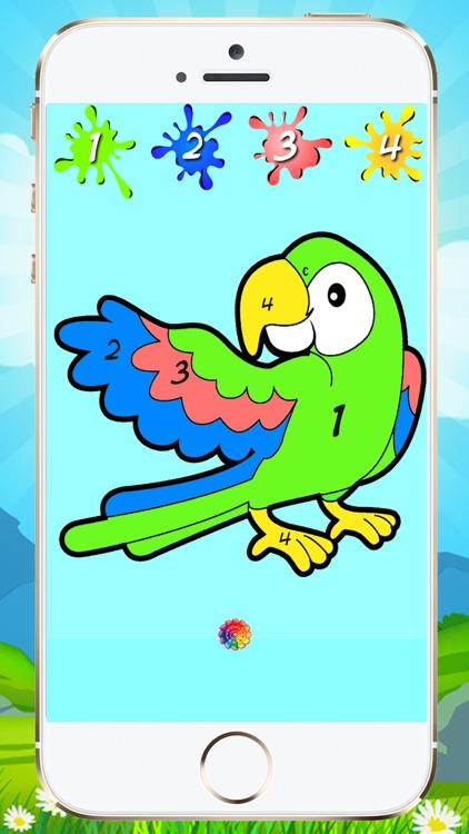 Coloring By Numbers For Kids screenshot-4