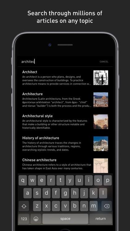 Inquire — Wikipedia Around You screenshot-4