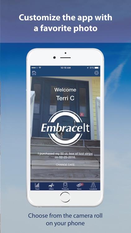 EmbraceIt Diabetes Management screenshot-4