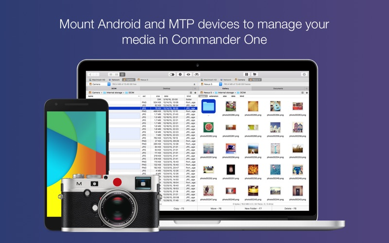 Commander One PRO - FTP client Screenshots