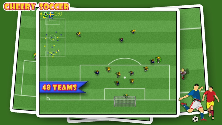 Cheery Soccer screenshot-0