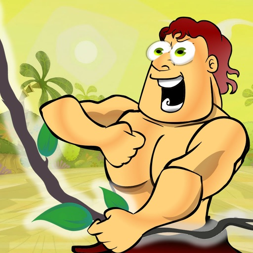 Super Tarzan - Jungle Rope Swinging Jump