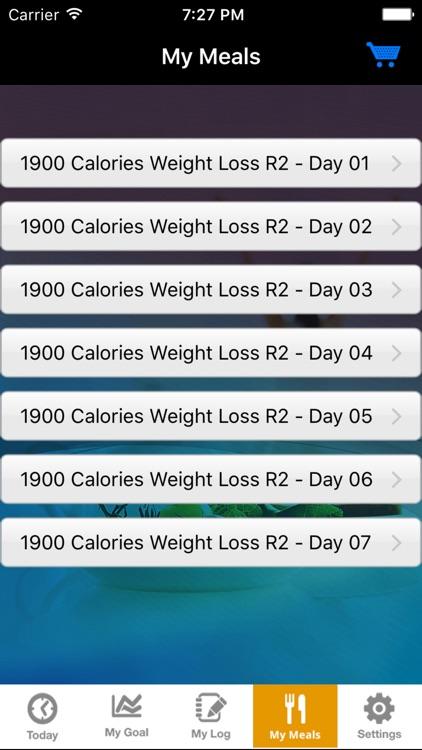 EZDietPlanner & Fitness Tracker screenshot-3