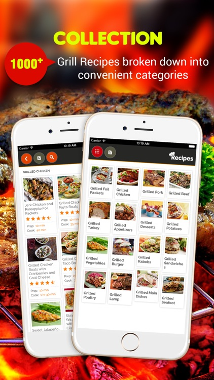 Grilling Recipes Pro screenshot-0