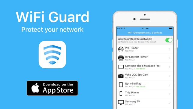 WiFi Guard - Scan devices and protect your Wi-Fi from
