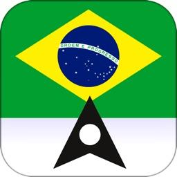 Brazil Offline Maps & Offline Navigation