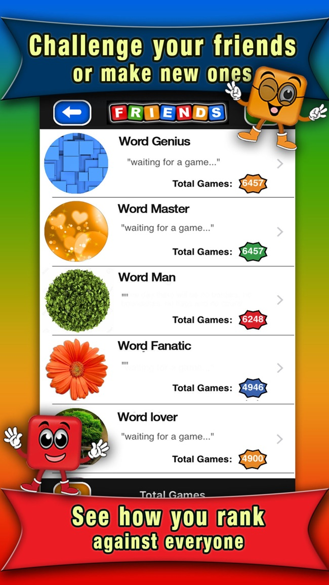 Word Colors Lite Screenshot