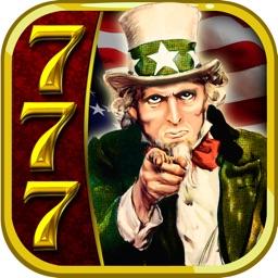 'A New American Slot Machine - a Free Classic Deluxe Casino Adventure