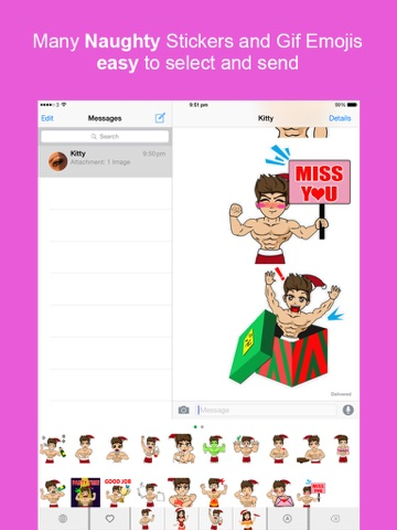 Sexy Keyemoji Free Dirty Stickers And Gif Emojis Keyboard