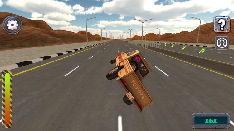 ملك الترفيع Side Wheel Hero screenshot-3