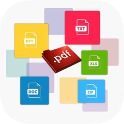 iDL Manager - PDF,EPUB,PPT,DOC,XLS Files Reader Pro