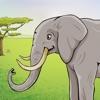 Gli animali selvatici nella foresta, la giungla e savana – puzzle gratis per i bambini