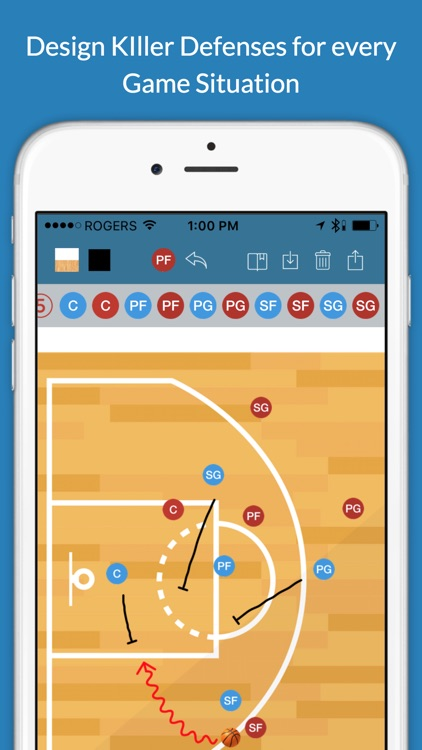 Basketball Clipboard Blueprint