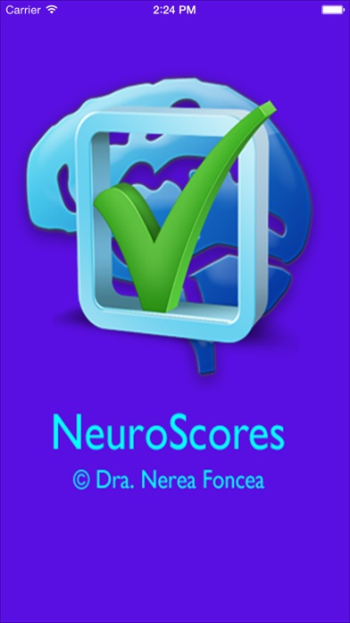 NeuroScores screenshot one