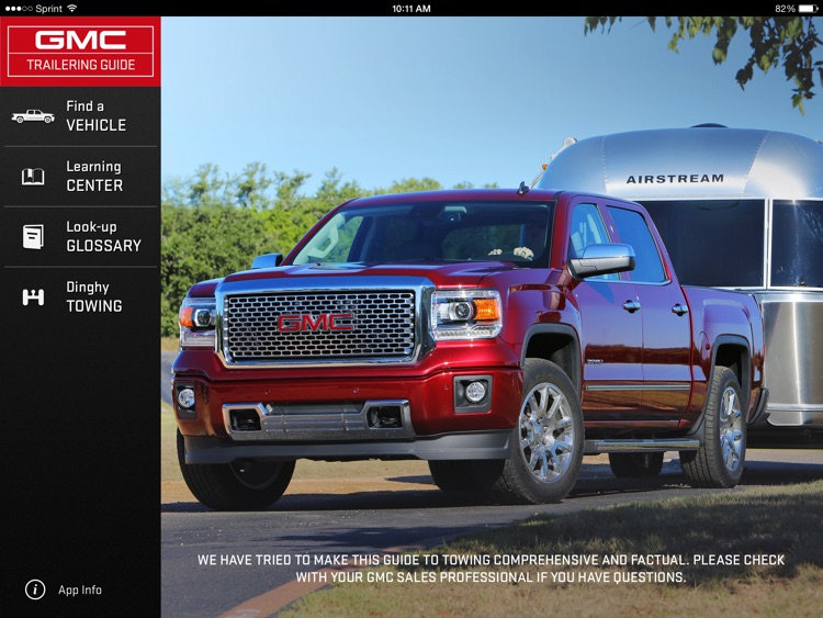 gmc trailering guide by general motors company rh appadvice com Cars for Towing Behind RV RV Towing