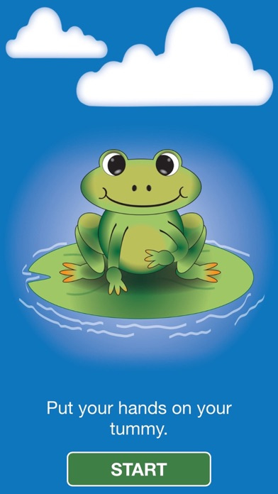 Guided Breathing with Jacob the Frog screenshot two