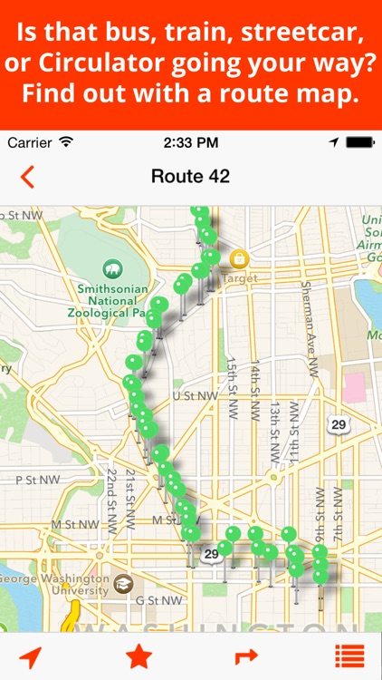 BusTrackDC - real time bus & rail info for DC screenshot-4