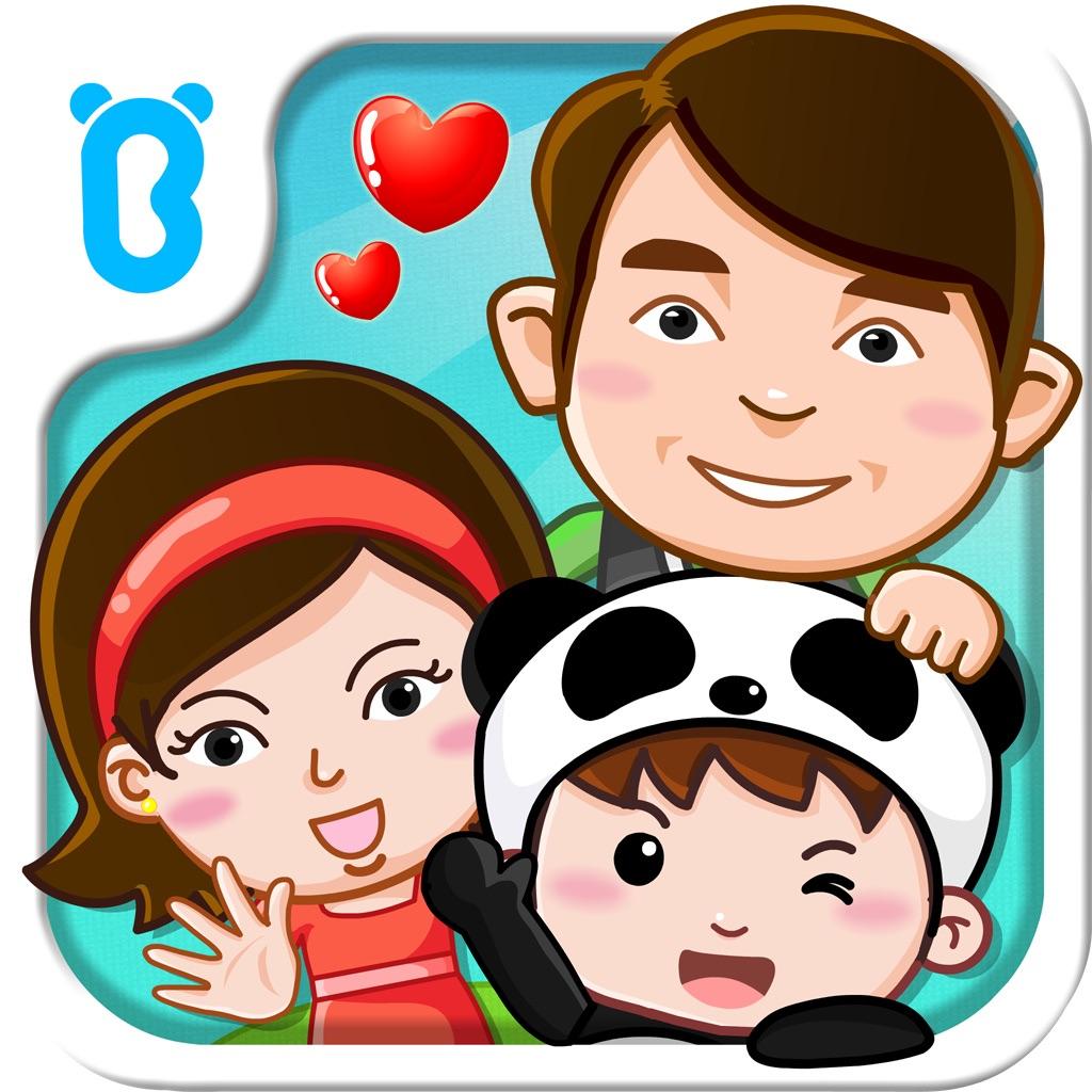 宝宝认家庭成员-幼儿启蒙认知必备游戏