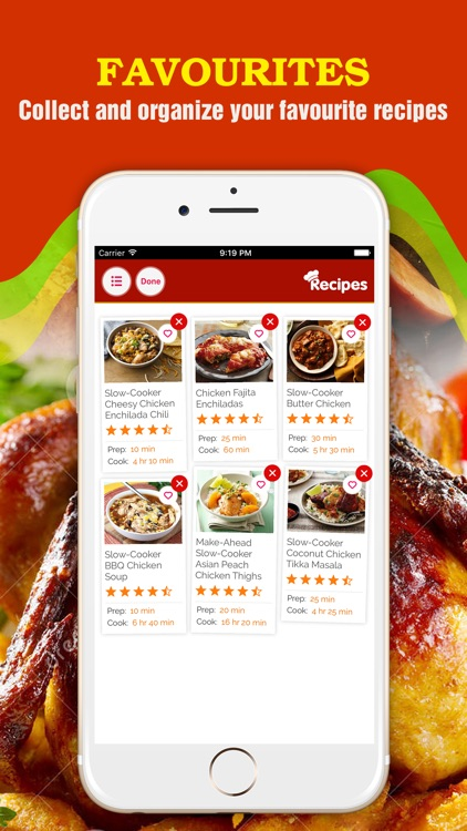 Healthy Chicken Recipes Pro ~ The Best Delicious Chicken Recipes Collection screenshot-3