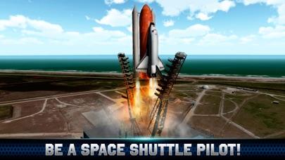Space Shuttle Flight Simulator 3D FreeScreenshot of 1