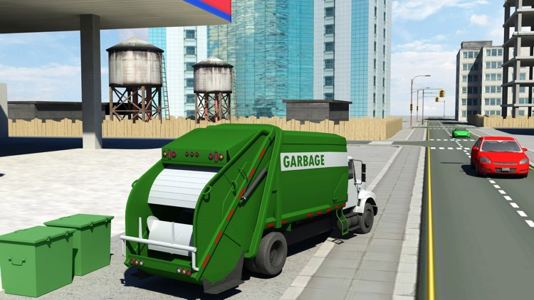 City Cleaner Garbage truck simulation screenshot-3