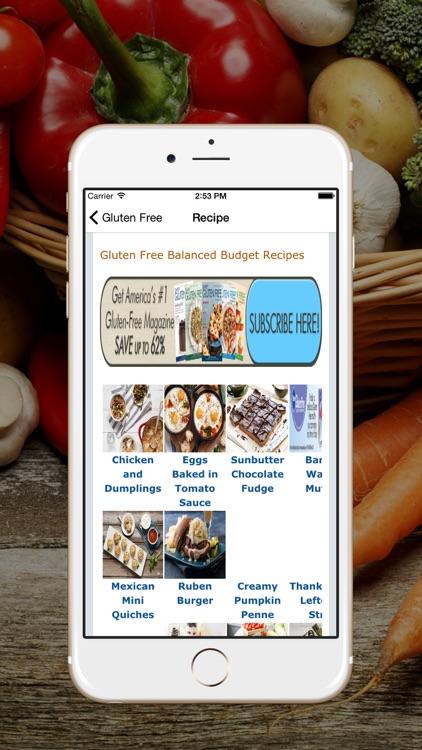 Simply Gluten Free - Gluten Free Recipes screenshot-3