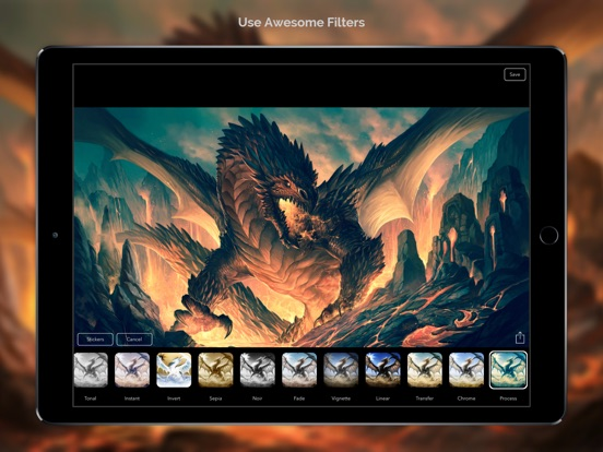 Dragon Wallpapers & Backgrounds + Amazing Fire Wallpaper Free HD-ipad-1