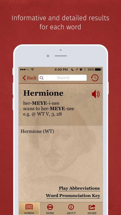 Shakespeare Pronunciation screenshot-3