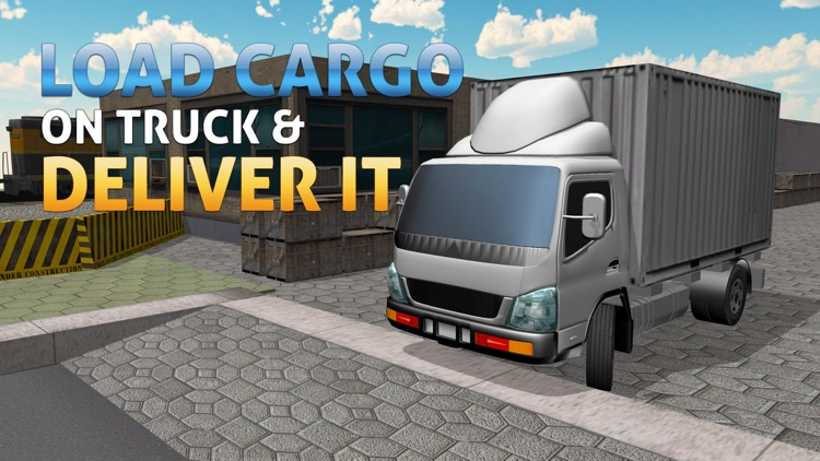 3D Cargo Truck Simulator – Mega lorry Driving & parking simulation game
