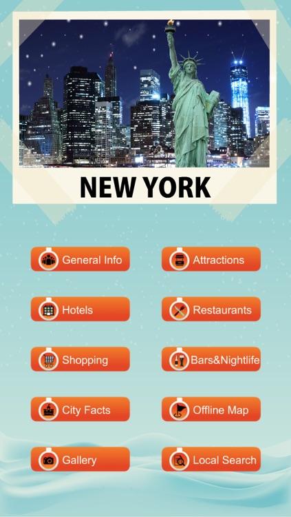 New York Travel Guide - Offline Map