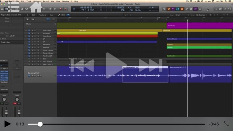 Course in Recording for Logic Pro X screenshot-3