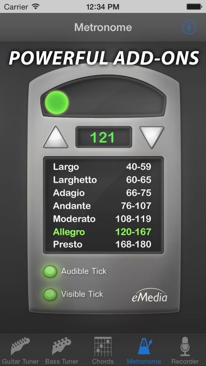eMedia Guitar Tuner Free screenshot-4