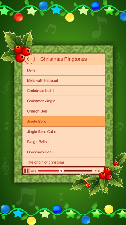 Holiday Ringtones Festival - Christmas Carols & New Year Ringtones Festival