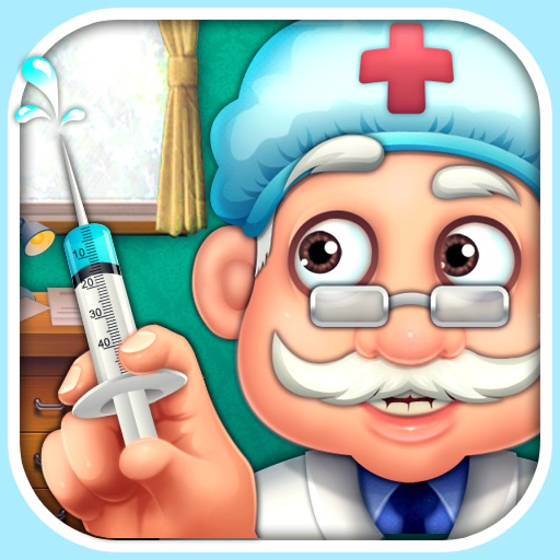Crazy Surgeon - casual free kids games & doctor game