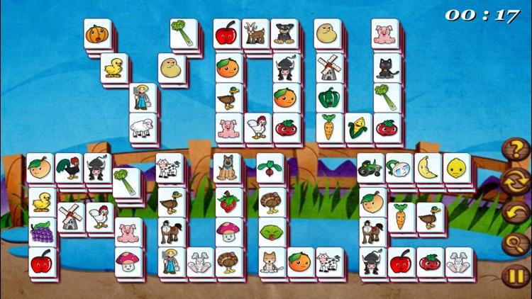 Barnyard Mahjong Free screenshot-4