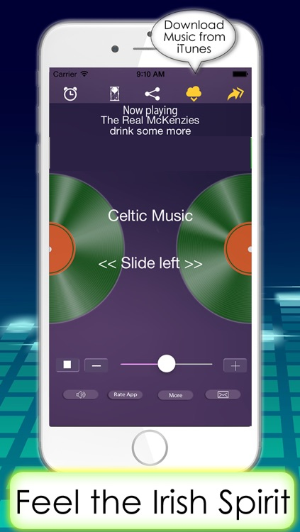 The best Celtic music & Irish relaxing music melodies from Ireland radio stations