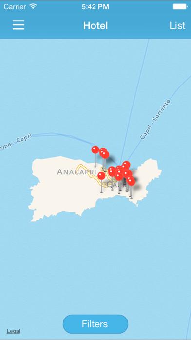 Screenshot of Info Capri4
