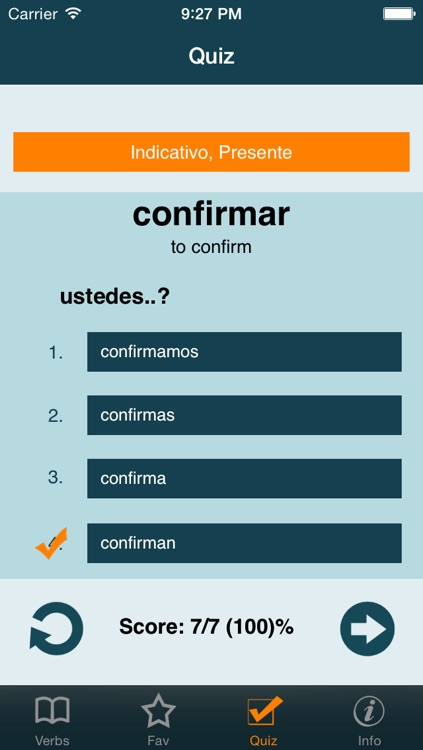 Spanish Verbs + screenshot-3