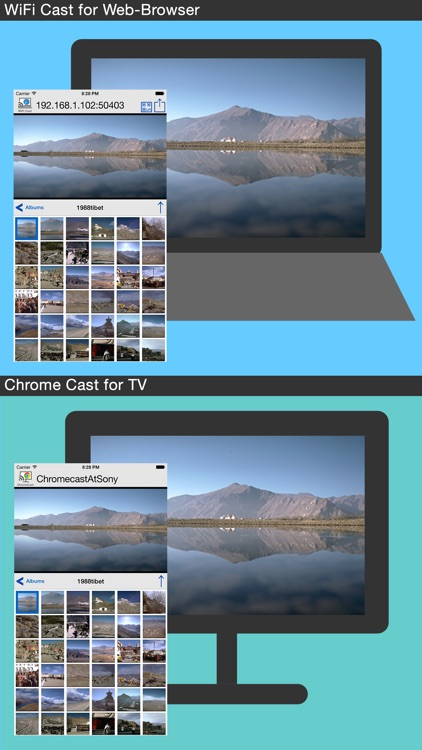 Photo Cast with WiFi for PC & ChromeCast screenshot-1