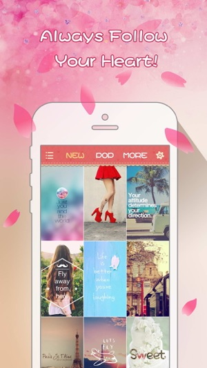 Girly Wallpapers - Adorable Backgrounds and Themes for iPhone and iPod touch 9+
