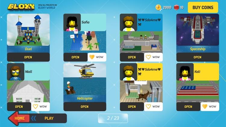 Bloxy World. 3D Blocks For Kids