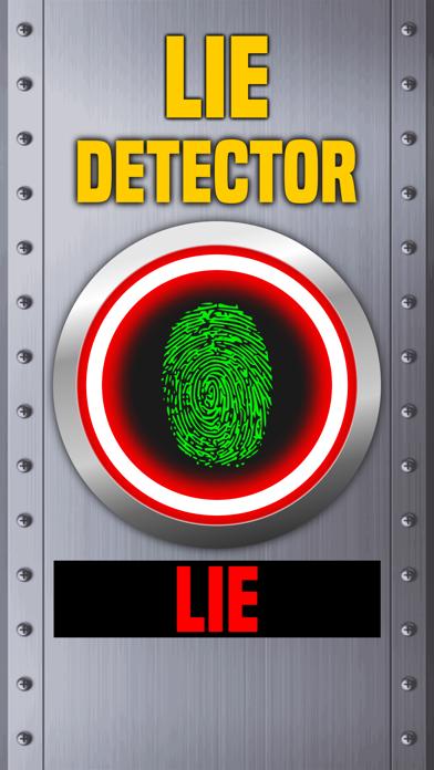Lie Detector Fingerprint Scanner Truth or Lying Touch Test HD + screenshot three