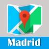 马德里旅游指南地铁西班牙甲虫离线地图 Madrid travel guide and offline city map, BeetleTrip metro trip advisor