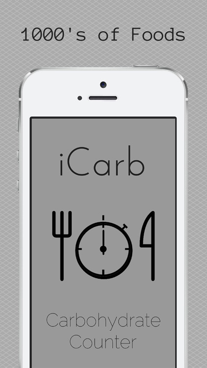 iCarb Carbohydrate and Calorie Counters