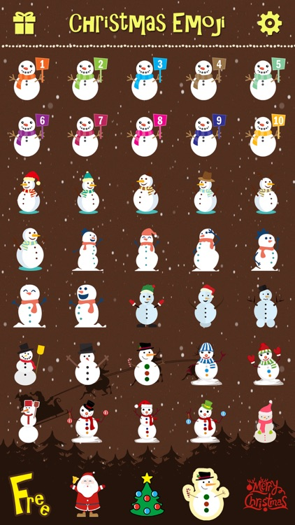Merry Christmas Emoji Pro - Holiday Emoticon Stickers & Emojis Icons for Message Greeting screenshot-3