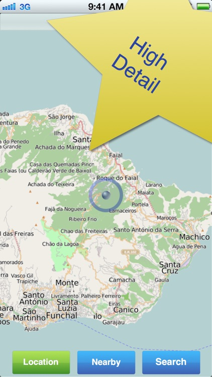 Madeira No.1 Offline Map