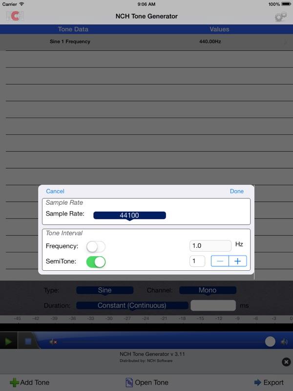 ToneGen Audio Tone Generator Free - Online Game Hack and Cheat