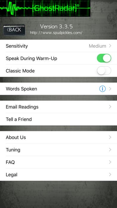 Ghost Radar®: LEGACY Screenshot on iOS