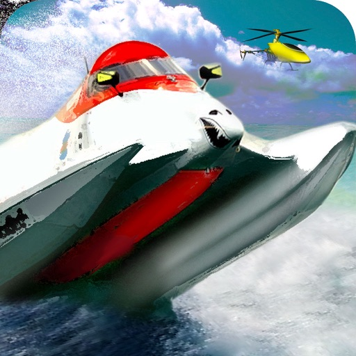 Powerboat Racing Free - Championship Speed Boat Edition icon